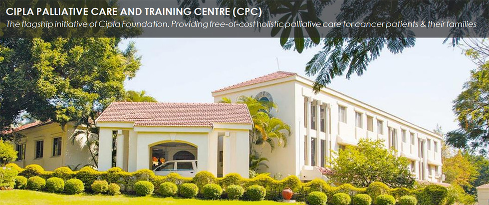 CIPLA PALLIATIVE CARE AND TRAINING CENTRE (CPC) - The flagship initiative of Cipla Foundation. Providing free-of-cost holistic palliative care for cancer patients & their families