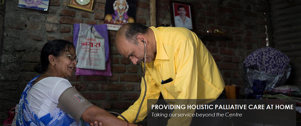 PROVIDING HOLISTIC PALLIATIVE CARE AT HOME - Taking our service beyond the Centre